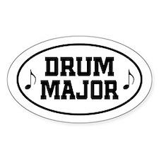 Drum Major Band Gift Sticker