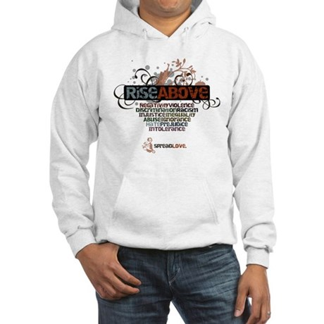 Rise Above Hooded Sweatshirt