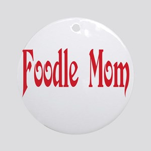 Foodle Ornament (Round)
