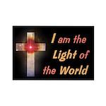 Light of the World Rectangle Magnet