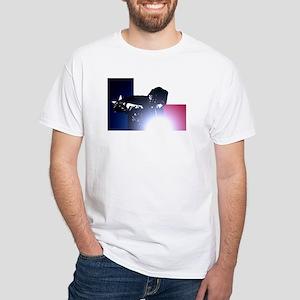Welding: Texas State Flag & Welder White T-Shirt