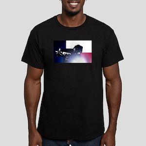 Welding: Texas State F Men's Fitted T-Shirt (dark)