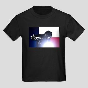 Welding: Texas State Flag & Weld Kids Dark T-Shirt