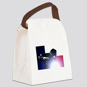 Welding: Texas State Flag & Welde Canvas Lunch Bag