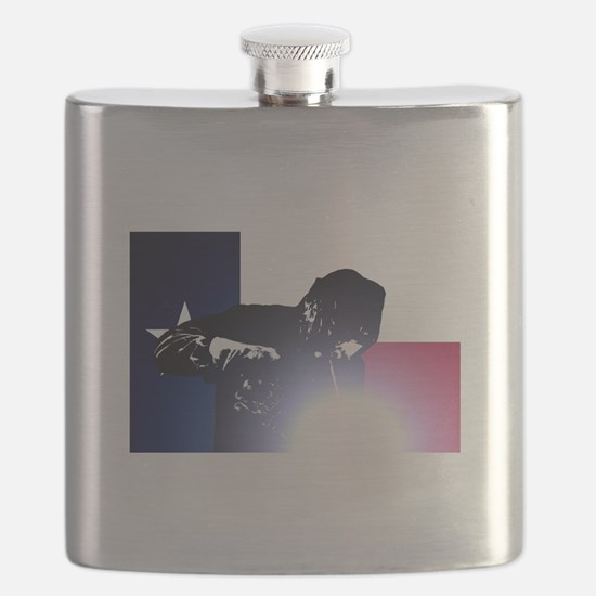 Welding: Texas State Flag & Welder Flask