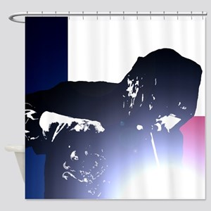 Welding: Texas State Flag & Welder Shower Curtain