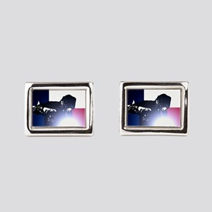 Welding: Texas State Flag & Rectangular Cufflinks