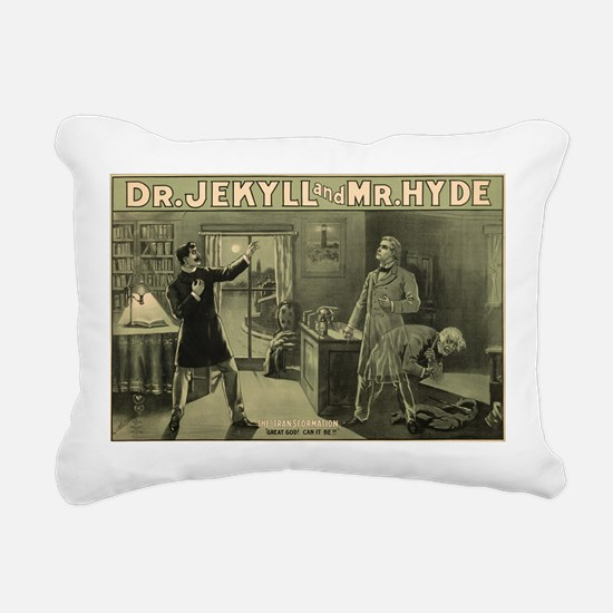 Jekyll & Hyde Rectangular Canvas Pillow