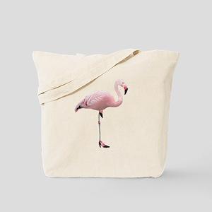 Flamingo Shoes Tote Bag