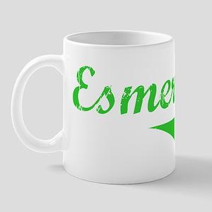 Esmeralda Vintage (Green) Mug