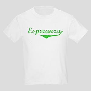 Esperanza Vintage (Green) Kids Light T-Shirt