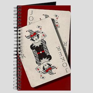 Joker playing cards Journal
