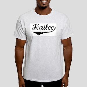 Hailee Vintage (Black) Light T-Shirt