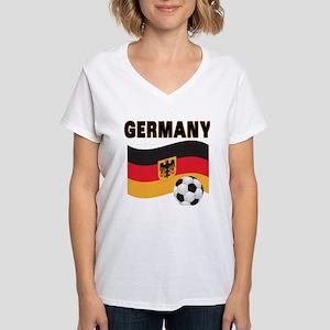 Germany Women's V-Neck T-Shirt