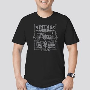 Vintage Motorcycles Fast and Loud T-Shirt