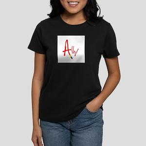 Ally Ash Grey T-Shirt