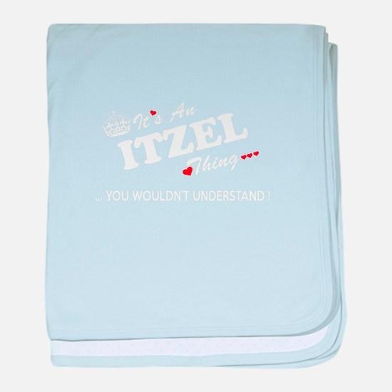 Cute Itzel baby blanket