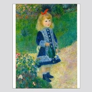 A Girl with a Watering Can by Renoir Posters
