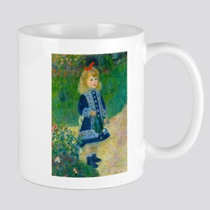 A Girl with a Watering Can by Renoir Mugs