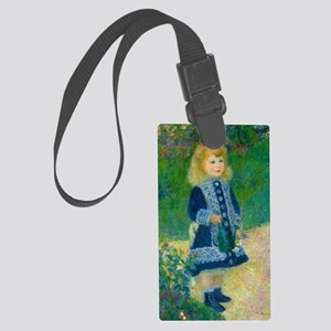 A Girl with a Watering Can by Renoir Luggage Tag