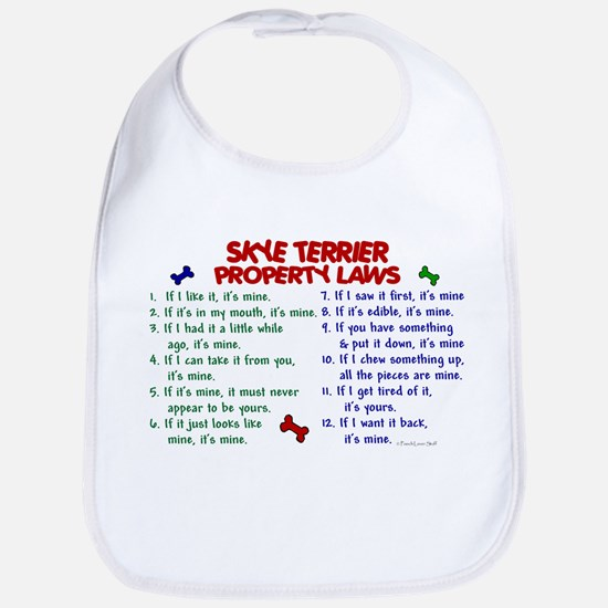Skye Terrier Property Laws 2 Bib