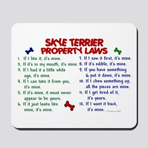 Skye Terrier Property Laws 2 Mousepad