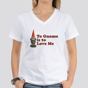 To Gnome is to Love Me Ash Grey T-Shirt