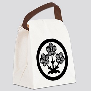 Suwa paper mulberry leaf Canvas Lunch Bag