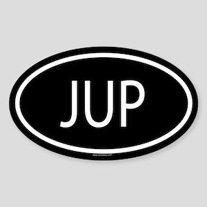 JUP Oval Sticker