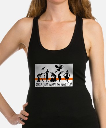 Cute Halloween witch Racerback Tank Top
