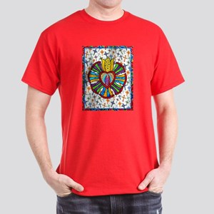 Guadalupe Red Milagro Dark T-Shirt