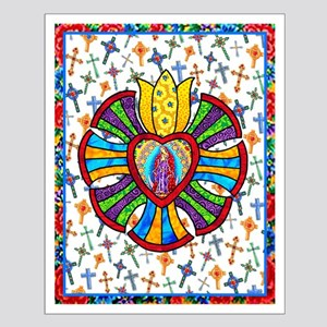 Guadalupe Red Milagro Small Poster