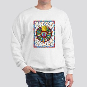 Guadalupe Red Milagro Sweatshirt