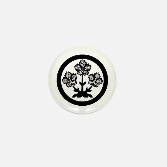 Suwa paper mulberry leaf Mini Button