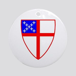 Episcopal shield ornament (Round)