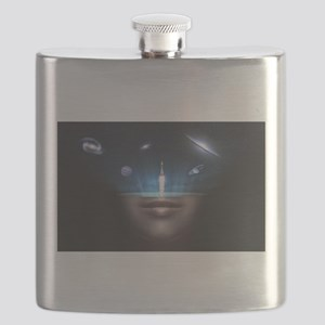 A Universe in the Mind Flask