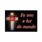Portuguese Cross Rectangle Magnet (100 pack)