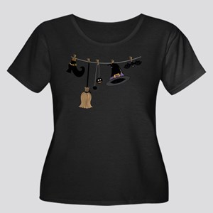 Witch Clothing Plus Size T-Shirt