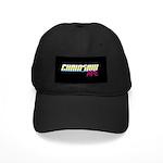 Baseball Hat :: Logo Patch Black Cap