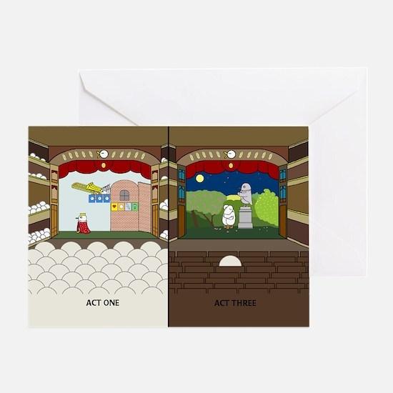 Very Long Opera Greeting Card