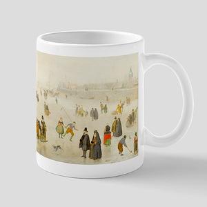A Scene on the Ice by Hendrick Avercamp Mugs