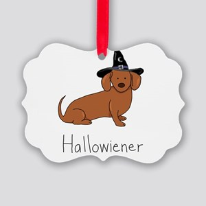 Hallowiener - Halloween Wiener Do Picture Ornament