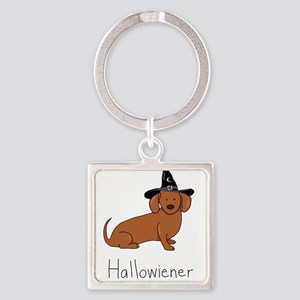 Halloween Wiener Dog Keychains