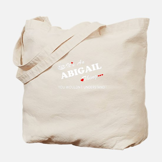 Funny Abigail Tote Bag