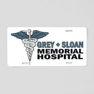 Greys Anatomy Aluminum License Plate