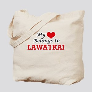 My Heart Belongs to Lawa'I Kai Hawaii Tote Bag