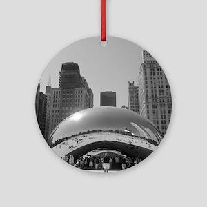 Bean, Chicago Ornament (Round)
