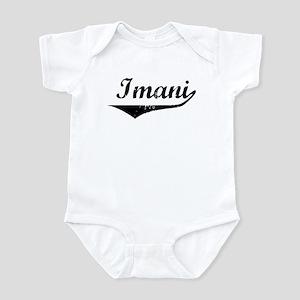 Imani Vintage (Black) Infant Bodysuit
