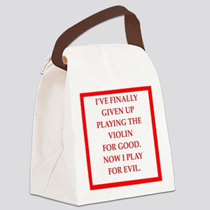 Music joke Canvas Lunch Bag