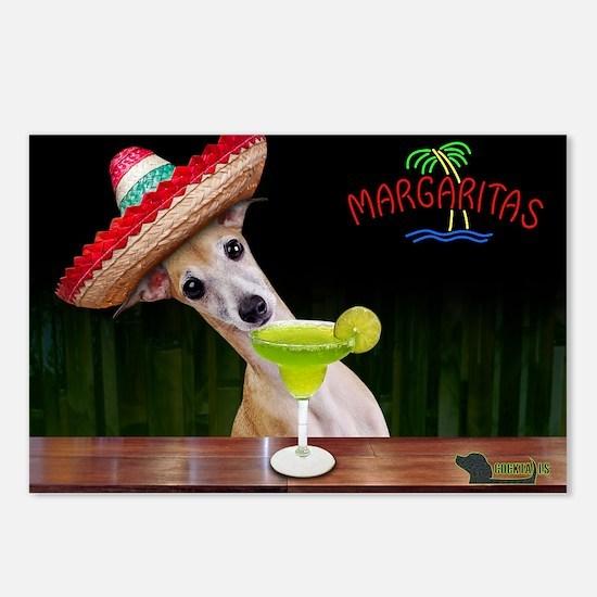 Cute Margarita Postcards (Package of 8)